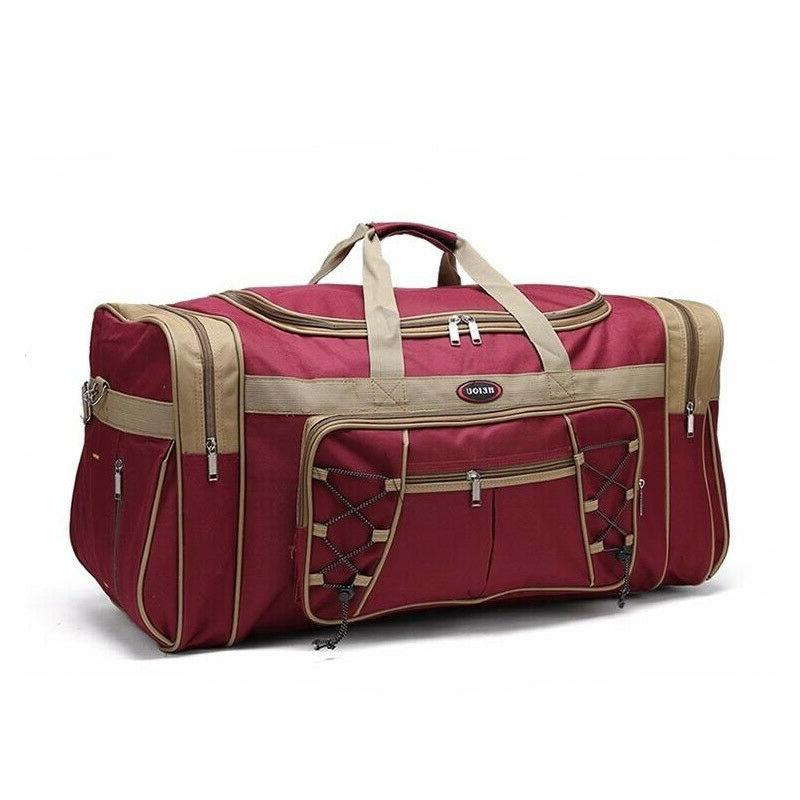New Bag Large Travel Shoulder Duffel Big