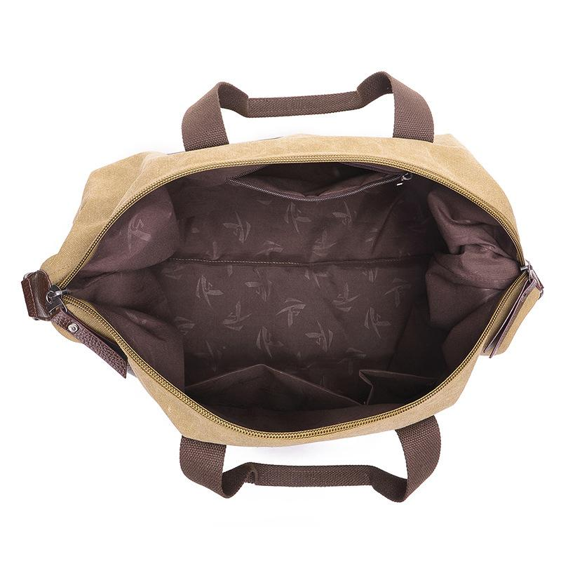 New Capacity <font><b>Bag</b></font> Outdoor <font><b>Bag</b></font> Women Khaki/Black