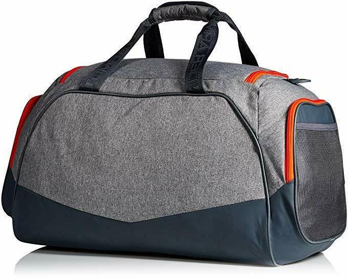 NEW UNDER MEN /WOMEN GRAY STORM UNDENIABLE 3.0 BAG