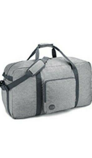 nwt unisex water resistant grey 22 foldable