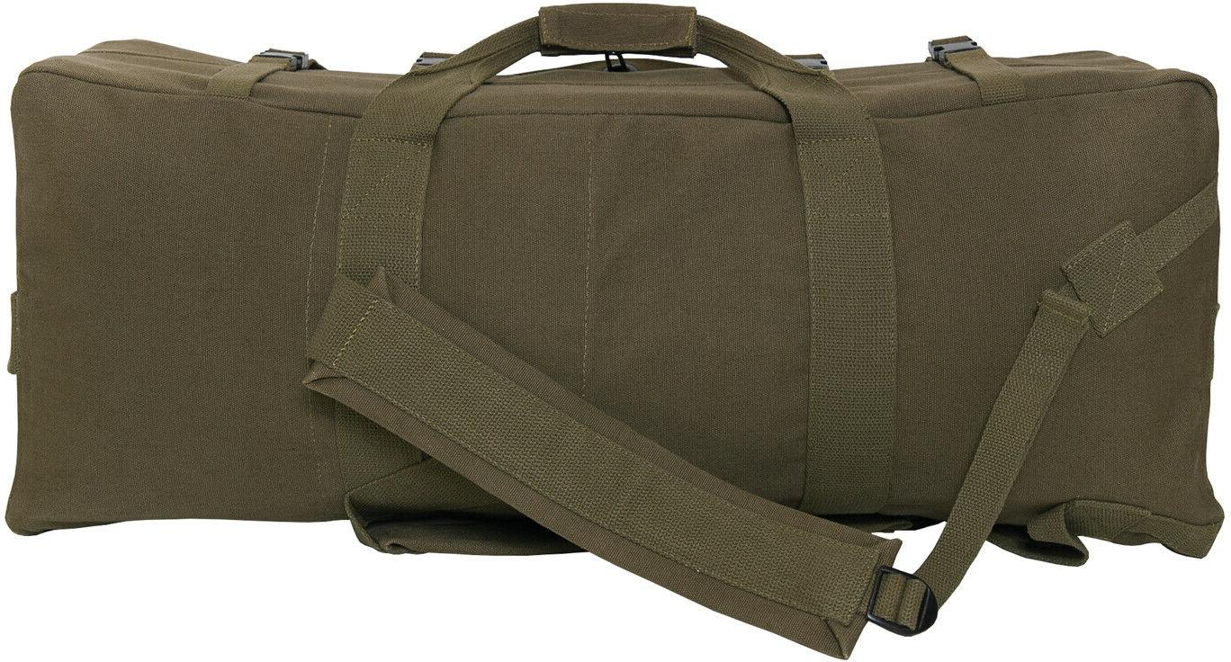 Olive Drab Canvas Gen II Duffle Bag Strap Tactical Type