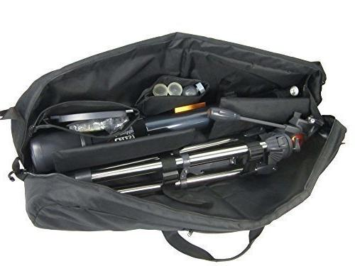 protective padded telescope carry case