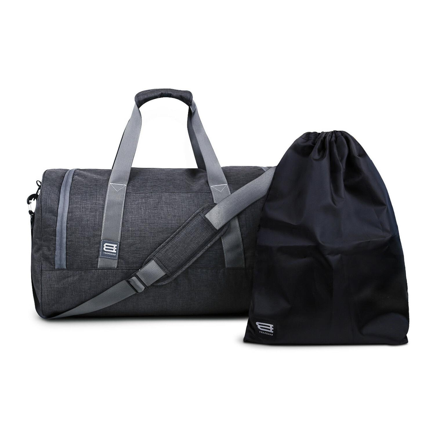 BAGSMART Bag Large Weekender Carry-on Luggage with Bag