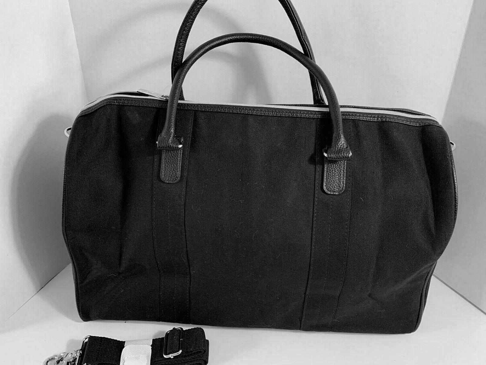 POLO Ralph WEEKENDER Overnight DUFFEL CARRY-ON BLACK