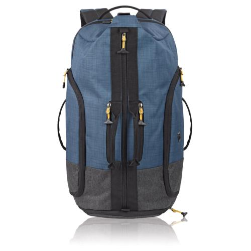 Solo Weekender Backpack Duffel, Blue/Grey