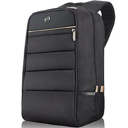 Solo Transit 15.6 Inch Laptop Backpack, Black