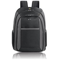 """Solo Metropolitan 16"""" Laptop Backpack with Removable Sleeve,"""
