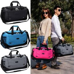 Large Outdoor Gym Sports Bag Travel Luggage Carry On Duffle
