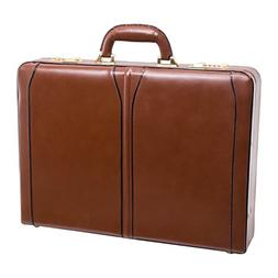 McKleinUSA LAWSON 80454 Brown Leather Attache Case