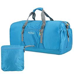 G4Free 60L Lightweight Foldable Portable Travel Duffel Bag G