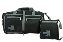 K-Cliffs Light Foldable Travel Duffel | Heavy Duty Ripstop F