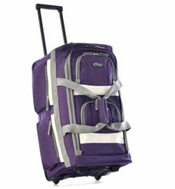 Luggage Travel Bag Wheels Set Rolling Duffel Carry On Suitca