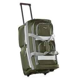 Luggage Travel Bag Wheels Set Wheeled Trolley Rolling Duffel