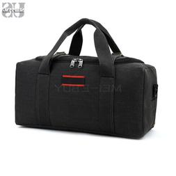 Mens Canvas Duffle Overnight Travel Duffel Weekend Gym Bag H