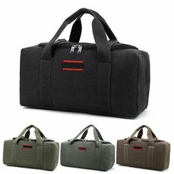 Military Canvas Duffle Gym Bag Sports Travel Luggage Handbag
