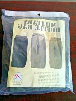 """Military Top Load Duffle Bag. Black 21"""" By 36"""". New Stil"""