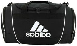 NEW !! Adidas Defender II Shoulder Duffel Gym Bag Black / Me