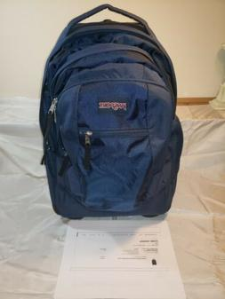 NEW JANSPORT DRIVER 8 WHEELED BACKPACK TRAVEL BAG JS00TN8900