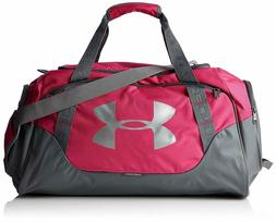 NEW NWT UNDER ARMOUR WOMEN PINK STORM UNDENIABLE 3.0 DUFFLE