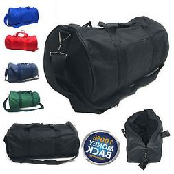 "18"" NEW Polyester ROLL Duffle Duffel Bag Travel/Gym/Carry-On"
