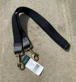 New Filson Replacement Web Shoulder Strap Brown Leather Blac