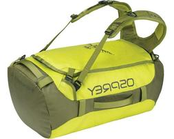NEW Osprey TRANSPORTER 40 SUB LIME travel duffel bag