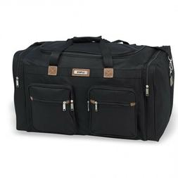 "New Hi-Pack Travel Duffle Bag 18"" 22"" 25"" 28"" Luggage Black"