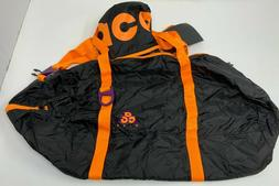 Nike Nk ACG Packable Duffel bag Black Bright Mandarin BA5840