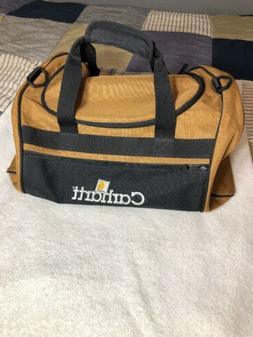NWOT Carhartt Brown and Black Duffel Bag A194