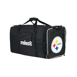 Officially Licensed NFL Pittsburgh Steelers Steal Duffel Bag