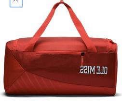 Ole Miss Rebels Nike Vapor Duffel Bag Red Polyester NWT