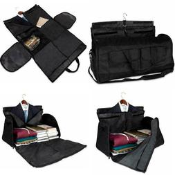 Olivia & Aiden 2 In 1 Travel Garment Bag Duffel/Hanging Carr