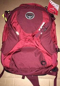 Osprey Ozone 46 Travel Pack Burgandy/Red NWT