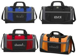 Personalized Gym Bag Sports Duffel Carry On Groomsmen Gift C