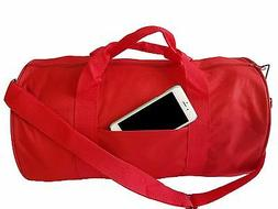 "18"" GYM BAG YOGA Duffle Duffel Bag Travel Bag Carry-On Sport"