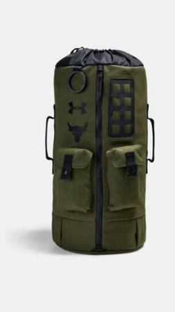 Under Armour Project Rock 60 Duffle Bag BackPack Green #1345