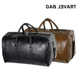 PU <font><b>Leather</b></font> Men Travel <font><b>Bags</b><