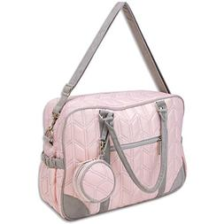 Wendy Bellissimo Quilted Duffel Diaper Bag