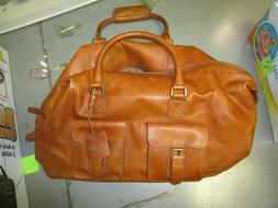 Rawling's BROWN Frankies Duffel Bag NEW NO TAGS