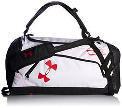 Under Armour SC30 Storm Contain Duffle,White /Red, One Size