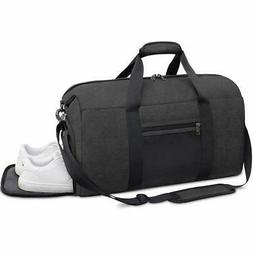 Sports Gym Bag Duffle Bag with Shoes Compartment Waterproof