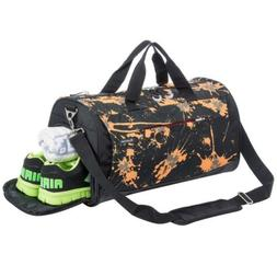 Sports Gym Bag with Shoes Compartment Travel Duffel for Men