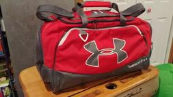 UNDER ARMOUR STORM1 RED MEDIUM DUFFLE BAG