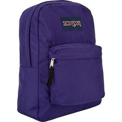 JANSPORT SUPERBREAK ELECTRIC PURPLE BACKPACK 100% AUTHETIC M