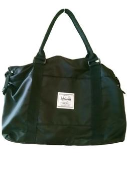 """HERSCHEL SUPPLY CO. DUFFEL BAG TOTE CARRY ON BLACK 17"""" NEW!"""