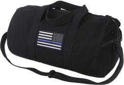 Support Police Thin Blue Line I Stand For US Flag Shoulder G