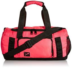 PUMA Puma Throttle Jr. Duffel Accessory, Duffel Pink/Black,