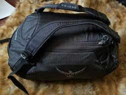 Osprey Transporter 40 Black & Gray Duffle Bag
