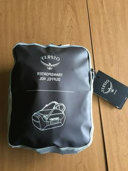 Osprey Transporter Travel Duffel 40 L, Black - New With Tags