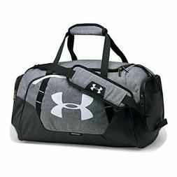 Under Armour Undeniable 3.0 Duffle, Graphite /White, One Siz